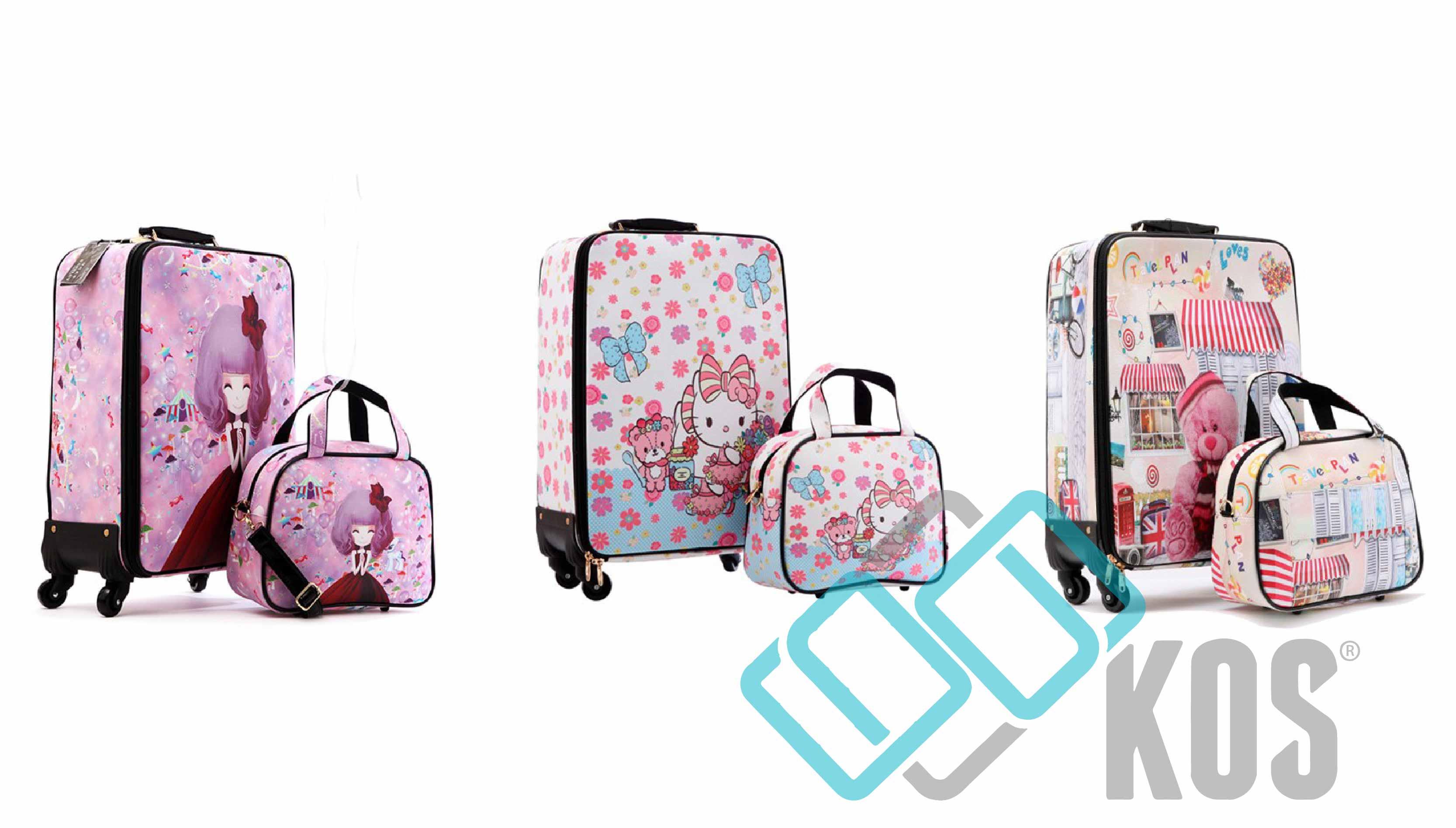 vali kéo đôi cho mẹ và con