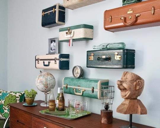 Hô biến vali cũ thành vật dụng siêu xinh 14