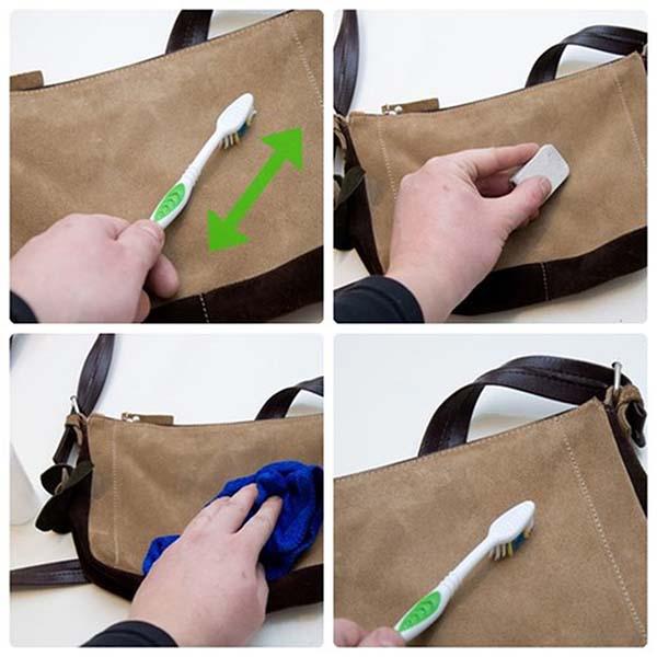 Cách giặt cặp da đúng cách 4