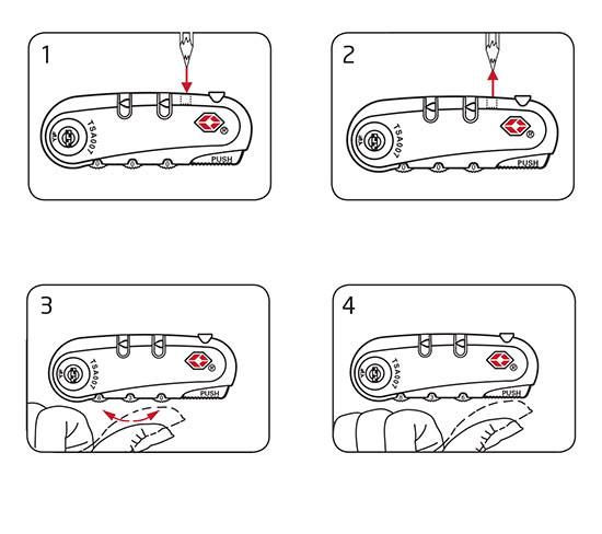 Khóa số vali TSA là gì? 8
