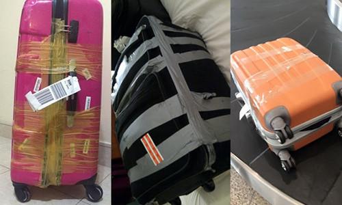 Cách bảo quản vali khi đi máy bay 2