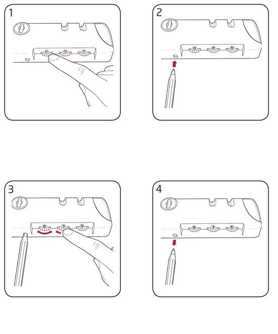 Cách mở khóa sốKhóa số vali TSA là gì? 5 TSA 3