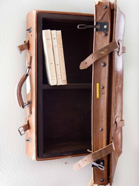 Hô biến vali cũ thành vật dụng siêu xinh 11